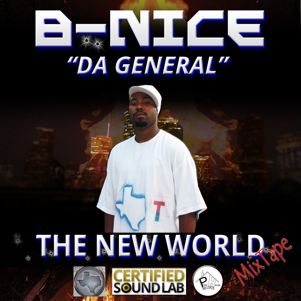 B-NICE – I'M NICE – NEW-WORLD-MIX-TAPE
